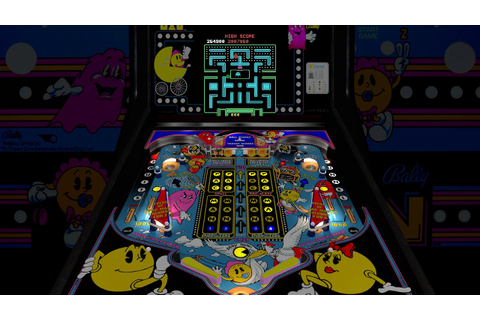 Baby Pac-Man Arcade 1.7 Million Points (PinMAME + VPX ...