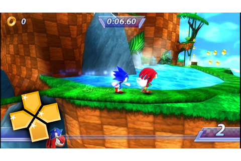 Sonic Rivals PPSSPP Gameplay Full HD / 60FPS - YouTube
