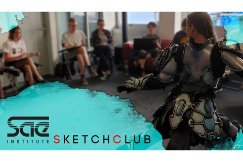SAE SketchClub (Summer Sessions) - Game Art & 3D Animation ...