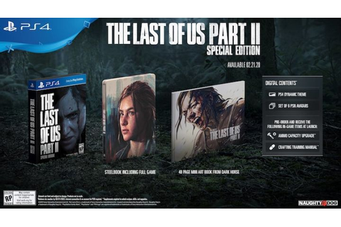 The Last of Us Part 2 Collector's Editions Announced ...