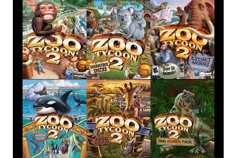 Zoo Tycoon 2 Ultimate Collection PC Unboxing - YouTube
