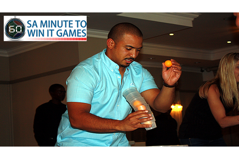 Tilt-A-Cup Minute To Win It Game – SA Minute To Win It Games