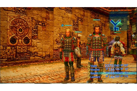 Final Fantasy XII: The Zodiac Age GAME MOD Party Editor v ...