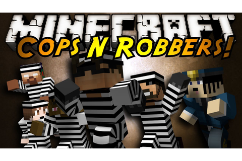 Minecraft Mini-Game : COPS N ROBBERS! - YouTube