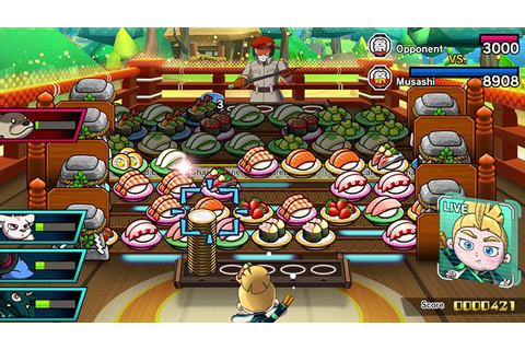 Sushi Striker: The Way of Sushido Will Hit Switch And 3DS ...