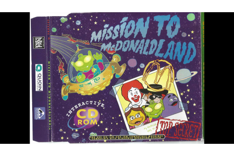 McDonald's 1999 PC Game - Mission To McDonaldland - YouTube