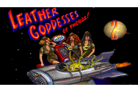 Leather Goddesses of Phobos 2 - Intro/Opening FR (Roland ...