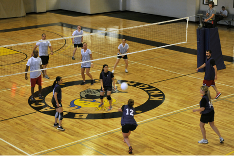19th FSS serves up double beating in volleyball game ...