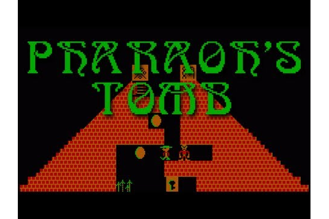 LGR - Pharaoh's Tomb - DOS PC Game Review - YouTube
