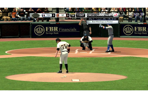 Major League Baseball 2K11 PC Gameplay HD - YouTube