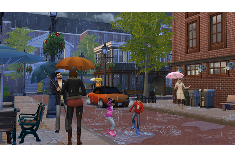 The Sims 4 Seasons - Rain (Fan Art) by HazzaPlumbob on ...