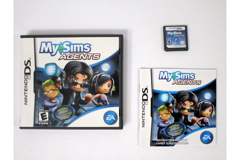 MySims Agents game for Nintendo DS (Complete) | The Game Guy