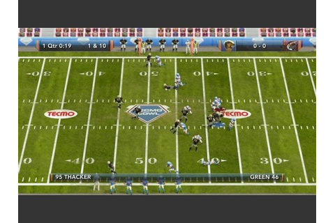 Tecmo Bowl Throwback Archives - GameRevolution