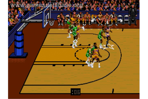 Bulls vs. Lakers and the NBA Playoffs - Sega Genesis ...