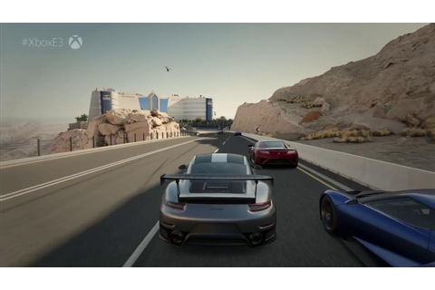 Forza Motorsport 7 First Look Xbox One X Gameplay - E3 ...