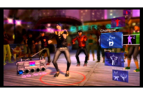 Dance Central Xbox 360 Kinect Gameplay Video - YouTube