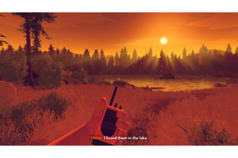 Firewatch • PC gameplay (part 2) • GTX 970 • 1080p 60FPS ...