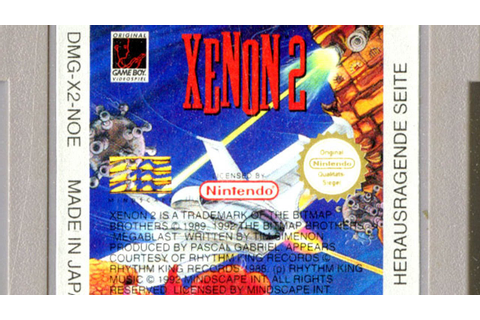 CGR Undertow - XENON 2: MEGABLAST review for Game Boy ...