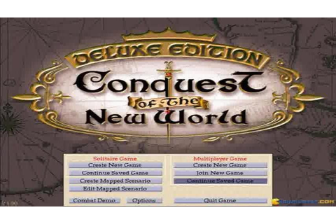 Conquest of The New World gameplay (PC Game, 1996) - YouTube