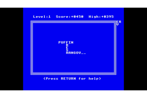 Xanagrams for the BBC Micro - YouTube