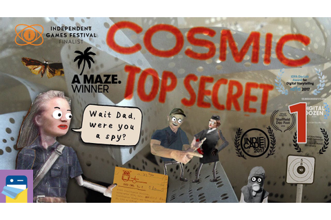 Cosmic Top Secret Game: iOS / Android / PC Gameplay ...