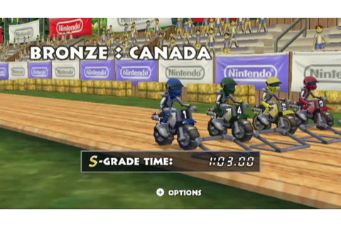 [Wii] - Excitebike World Rally - Bronze Cup - YouTube