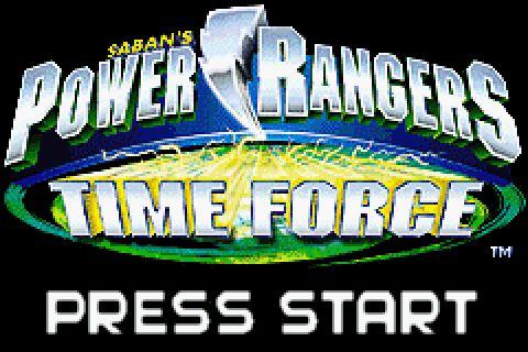 Power Rangers Time Force (2001) by Vicarious Visions GBA game