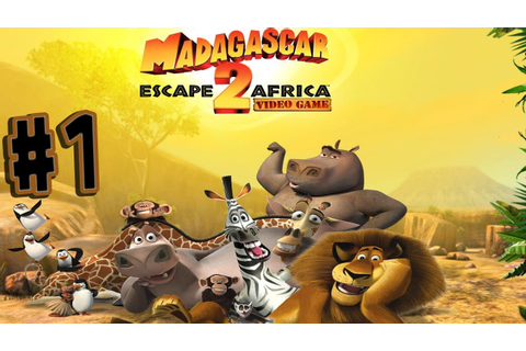 Madagascar: Escape 2 Africa - Walkthrough - Part 1 - In ...