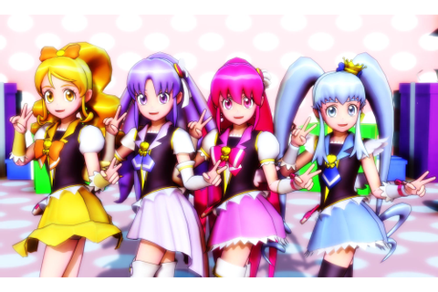 [MMD] HappinessCharge PreCure! by Lucky3Seven on DeviantArt