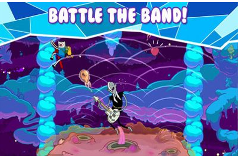 Rock Bandits – Adventure Time iPhone game - free. Download ...