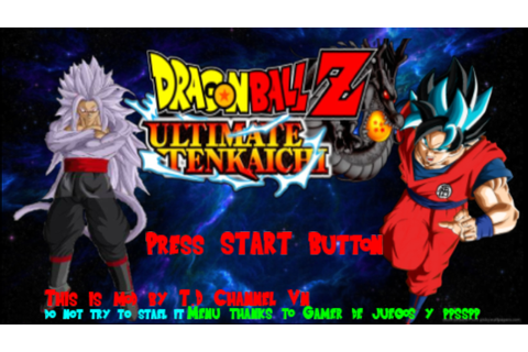 Dragon Ball Z - Ultimate Tenkaichi Mod Textures PPSSPP ISO ...