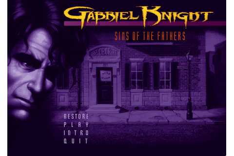 Super Adventures in Gaming: Gabriel Knight: Sins of the ...