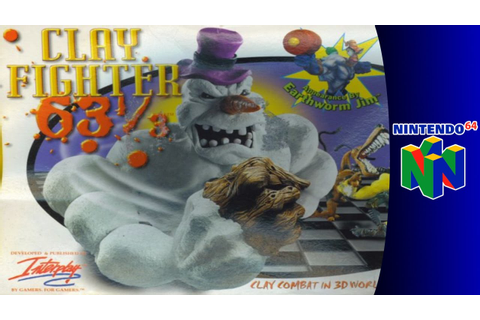 Nintendo 64 Longplay: ClayFighter 63⅓ - YouTube
