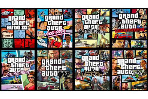 TOP 15 GRAND THEFT AUTO Games Ranked WORST to BEST! - YouTube
