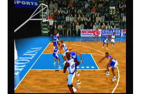 Fox Sports College hoops 99 wii64 - YouTube