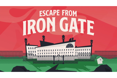 Escape From Iron Gate: The Prison Break Party Game - YouTube