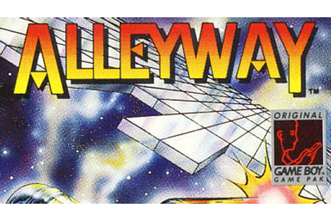 Classic Game Room - ALLEYWAY review for Game Boy - YouTube