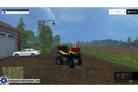 FS 215 – Can-Am 1000 Mudder ATV – Simulator Games Mods ...