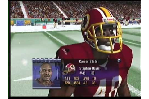 nfl fever 2002 cpu vs cpu gameplay - YouTube