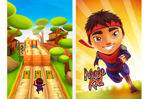 Ninja Kid Run Free - Fun Game Free Android Download ...