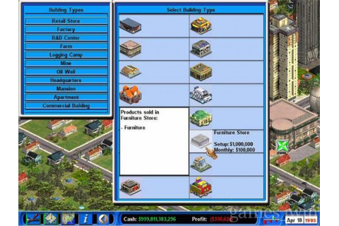 Capitalism II. Download and Play Capitalism II Game ...