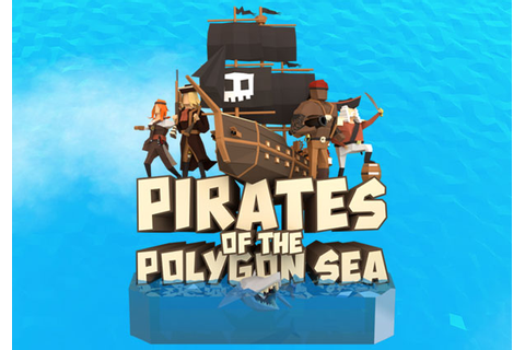Pirates of the Polygon Sea Game Banner