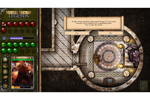Fighting Fantasy Legends turns the books into a video game ...
