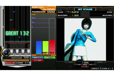 [beatmania IIDX 23 copula] deep in you (A) - YouTube
