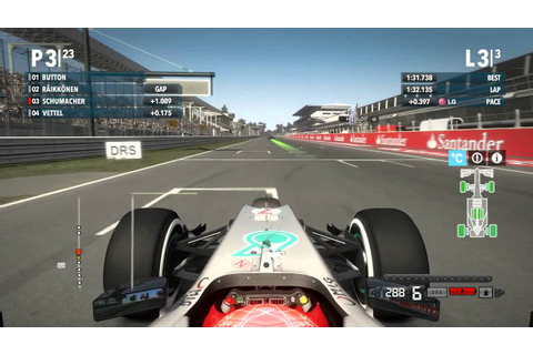F1 2012™ Michael Schumacher Italy gameplay HD - YouTube