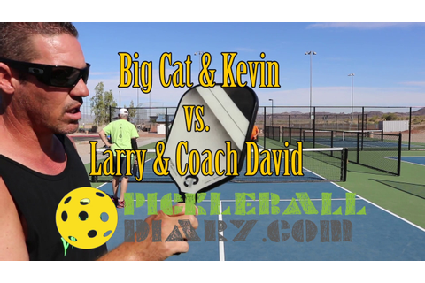 First Game with my New Encore Pro Coach David Pickleball ...