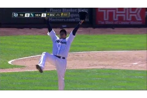 Felix Hernandez Pitches a Perfect Game! - YouTube
