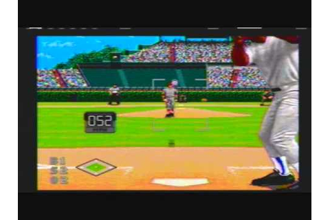 World Series Baseball (Video Game) 1995 Cardinals vs Cubs ...