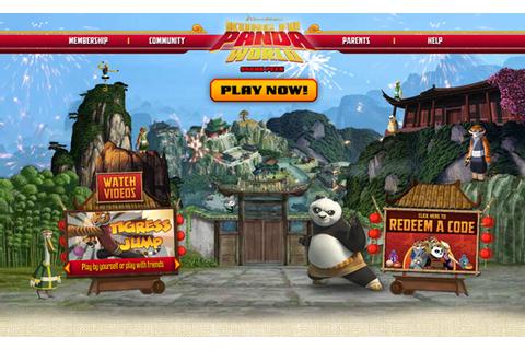 Kung Fu Panda World On Qwant Games