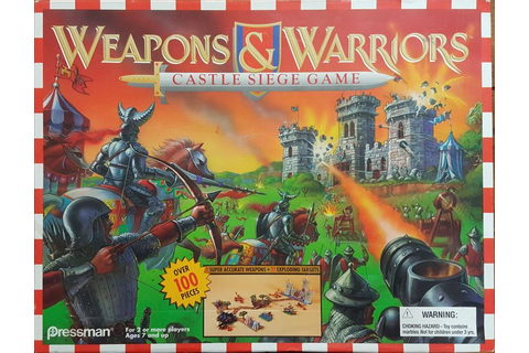 Weapons and Warriors: Castle Siege Game | Board Game ...